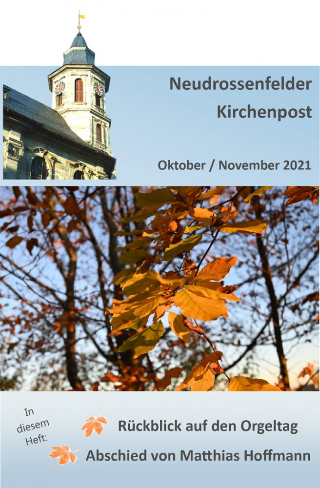 Kirchenpost Oktober/November 2021